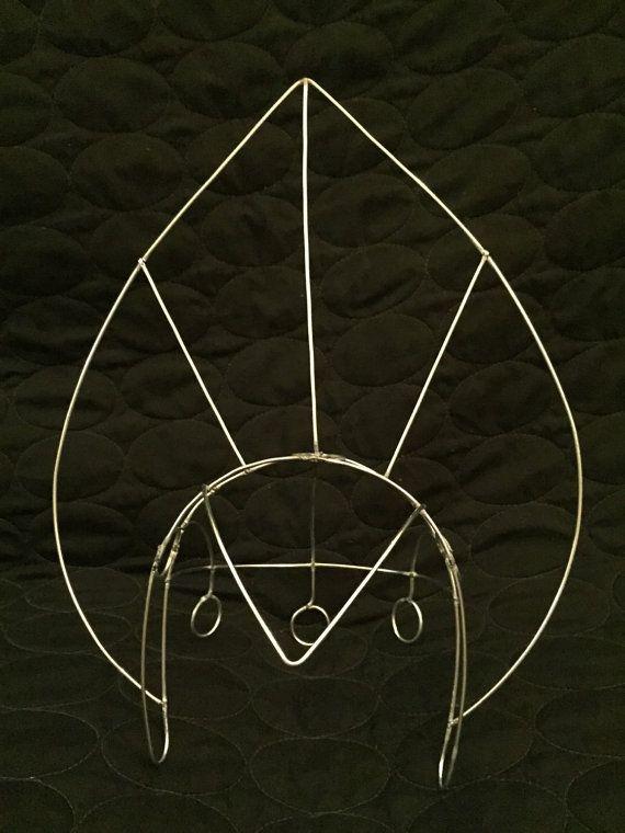 Samba Fantail Headdress Wire Frame Design Custom by geckomeister ...
