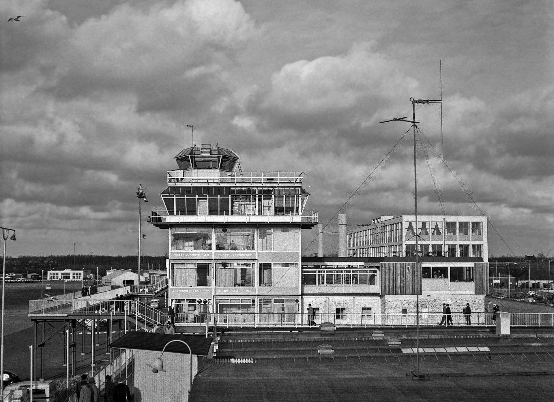 Schiphol Airport 1960's Amsterdam nederland, Holland