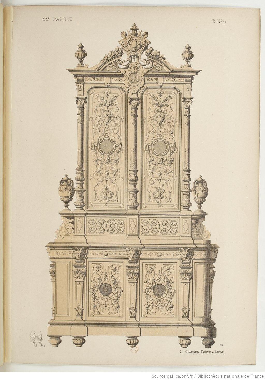 Epingle Par Luise Herrera Sur Classic Furniture Xixe Siecle Decoration Interieur Classique