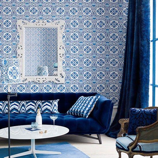 Dcouvrez Des Salons Marocains De Rve O Rgne Le Bleu Avec Nos