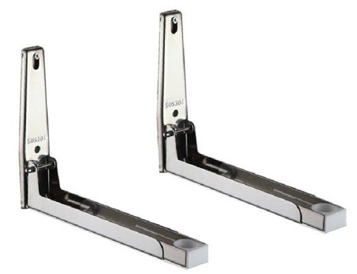 Rykey Sturdy Foldable 304 Stainless Shelf Rack For