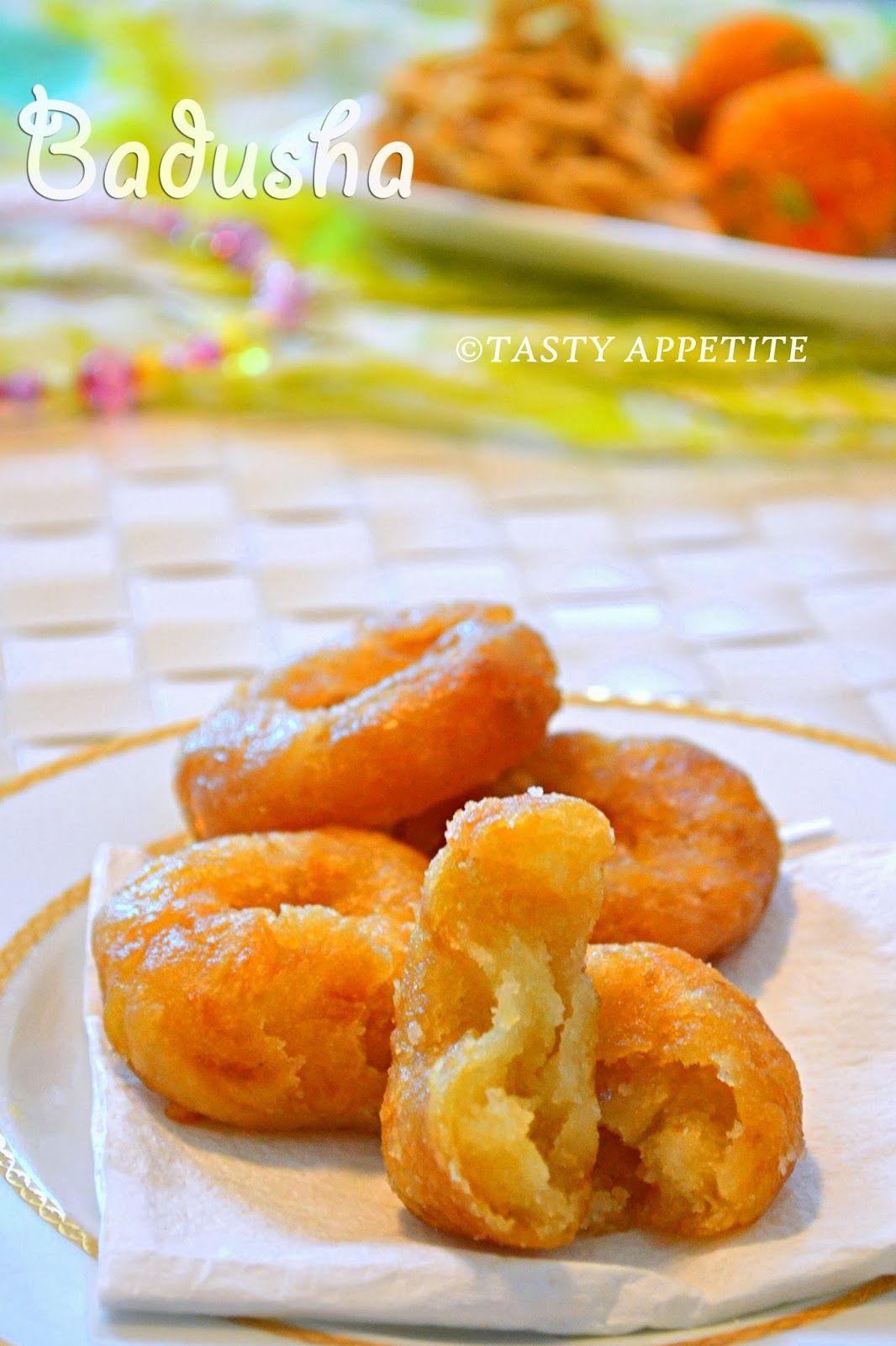 Badusha Sweet Recipe Easy Step By Indian Food RecipesIndian DessertsIndian