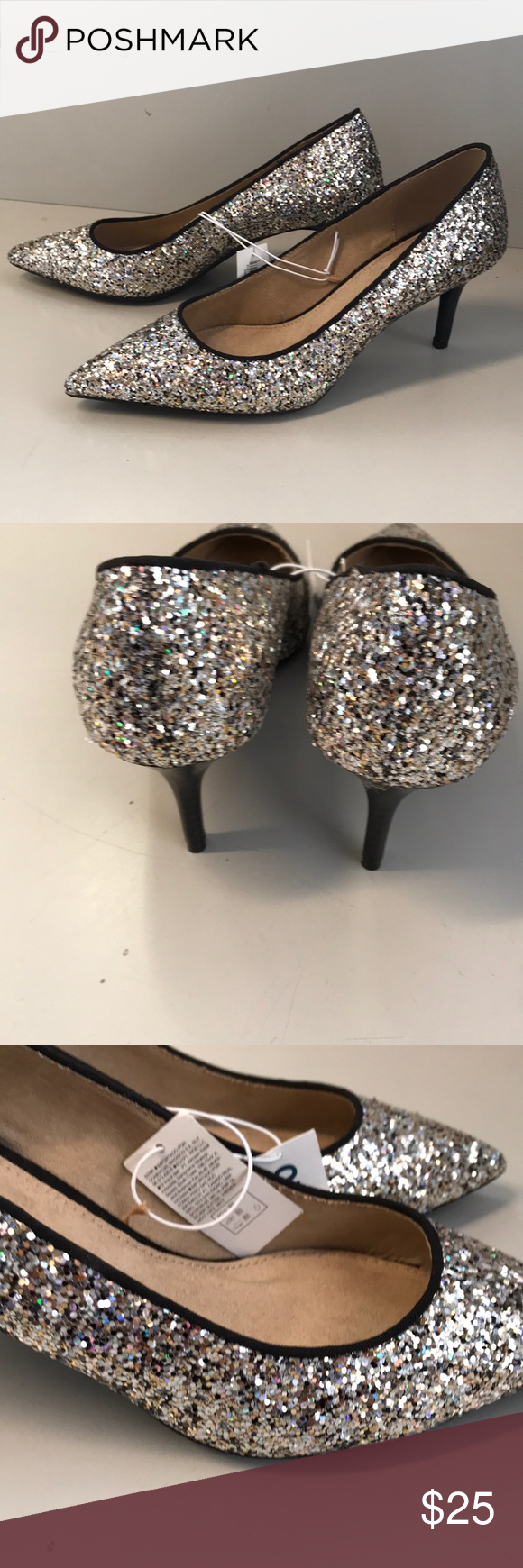 cf030fe27a4f 🆕 New Old Navy glitter heels Boutique in 2018