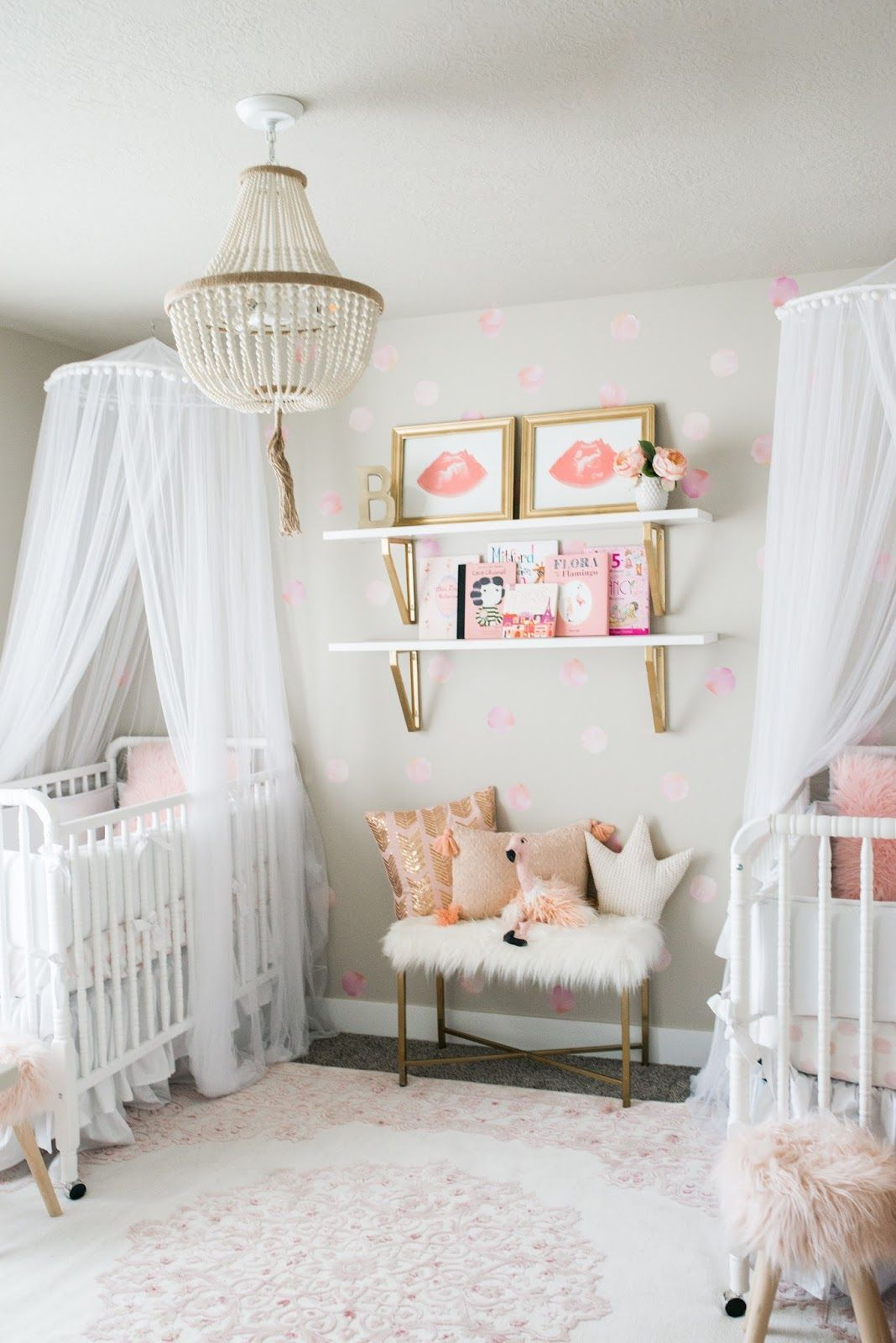 Nursery Tour A Modern Twist For Twins Twin Baby Rooms Nursery