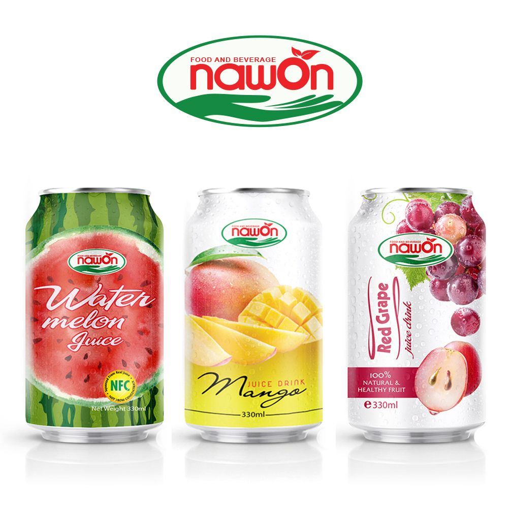 330ml NAWON Canned PREMIUM QUALITY Original Mango Juice