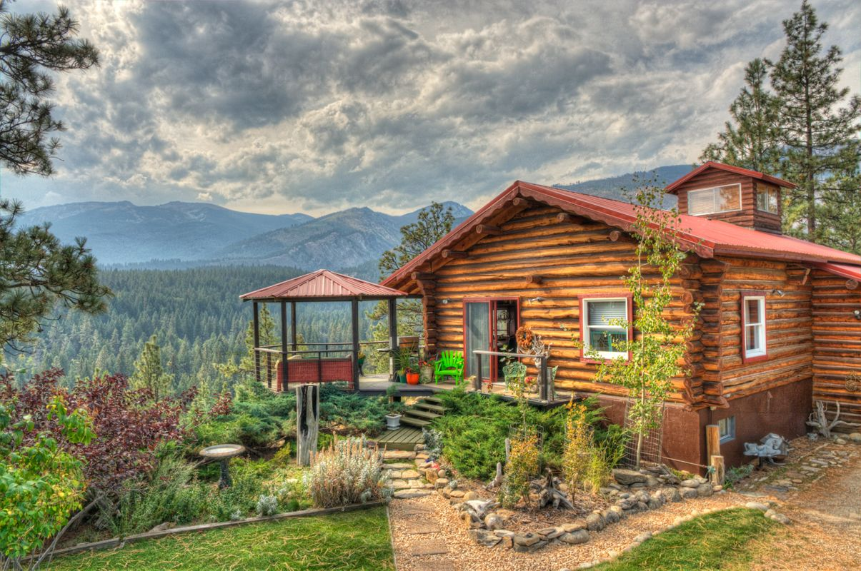 Montana Log Cabin with amazing views to be featured on