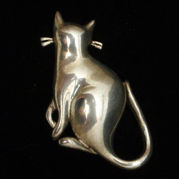 Cat Brooch Pin by Premier Designs