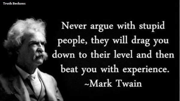 Good Quote by Mark Twain!