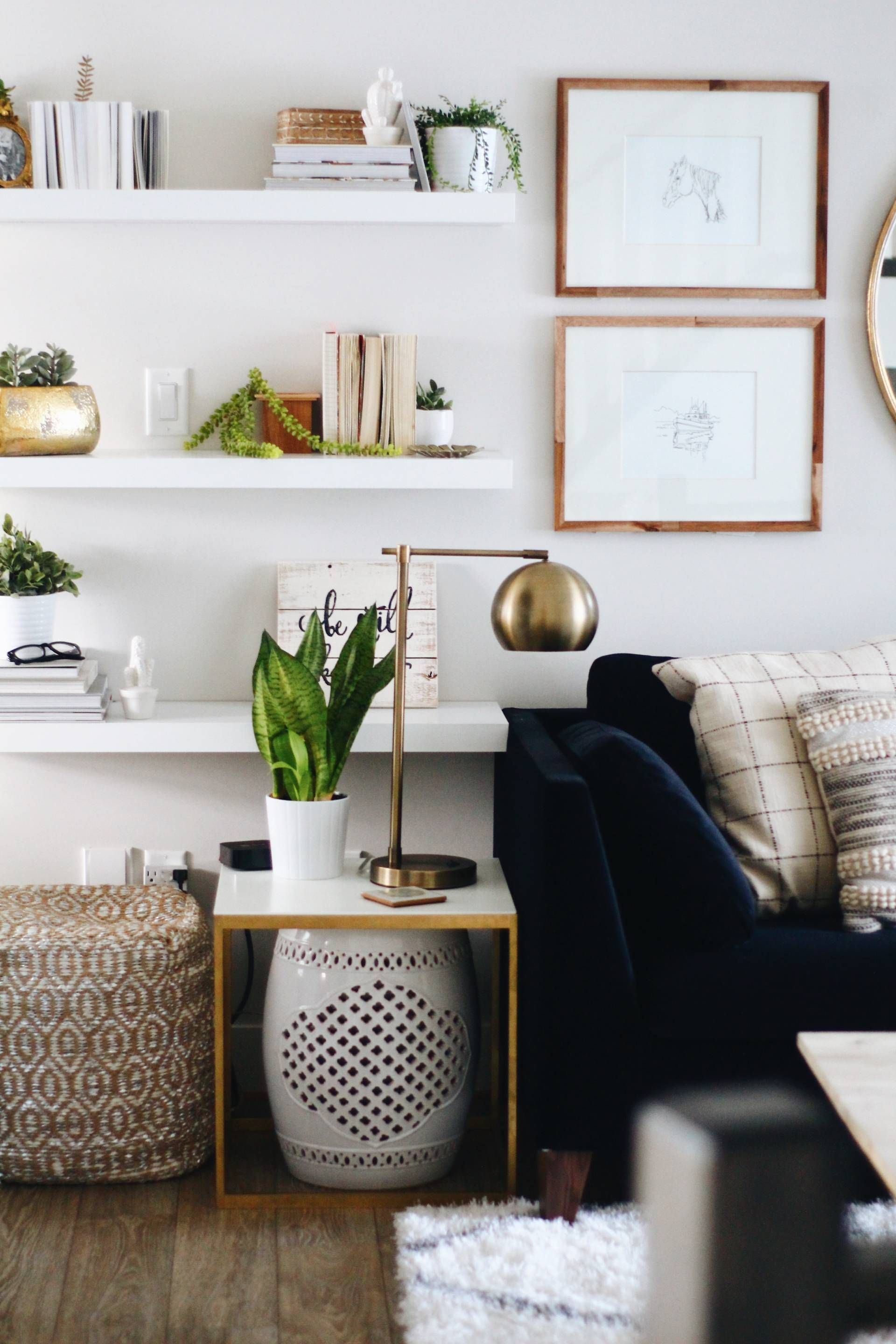 Updating your living room on a budget! | interior inspirations ...