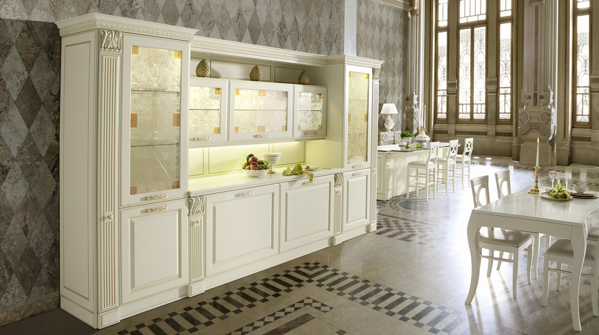 Veneta Cucine Mirabeau.Luxury Styling Combined With Modern Functional Design