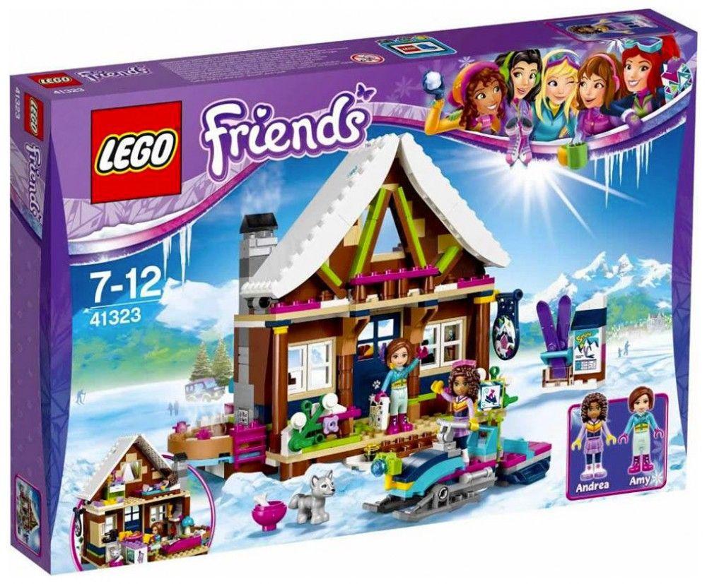 Lego friends heartlake grand hotel 41101 lego friends uk - Lego Friends 41323 Le Chalet De La Station De Ski Juin 2017