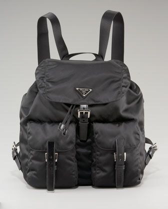 1f798edec9457a Vela Backpack Nero | PRADA / MIU MIU | Prada backpack, Backpacks, Prada