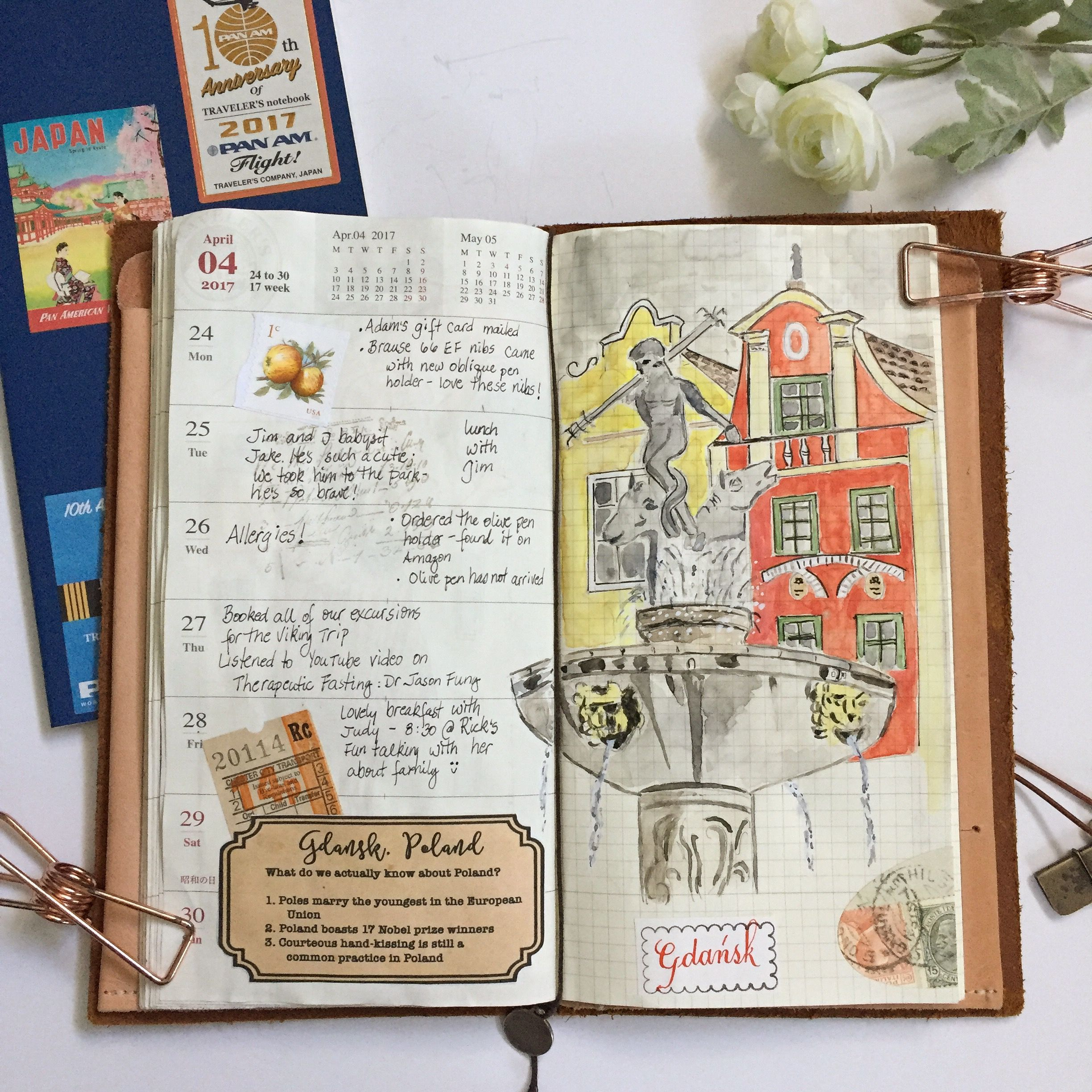 Image of: Three Old Week 17 In My Travelers Notebook Gdańsk Poland Old Town Pinterest Week 17 In My Travelers Notebook Gdańsk Poland Old Town
