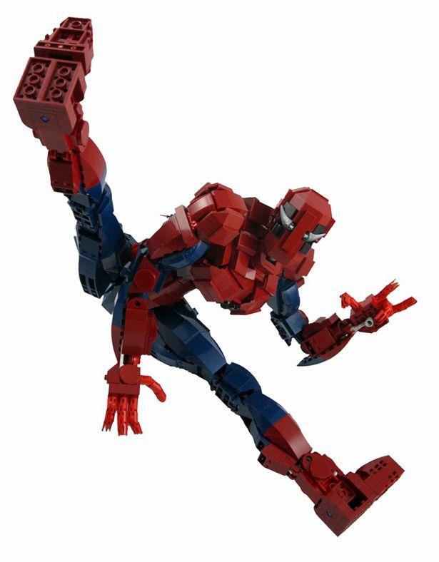 El sorprendente Hombre Araña hecho con LEGO | Geek | Pinterest ...