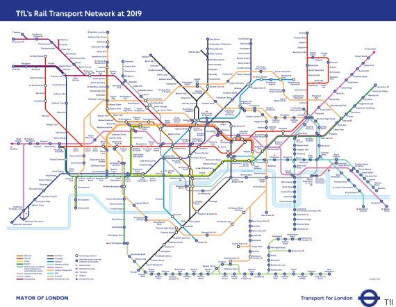 Theres a problem with the new elizabeth line that has disabled the london underground tube map poster is a design classic and the basis of many metro maps around the world available to buy at london transport museum gumiabroncs Choice Image