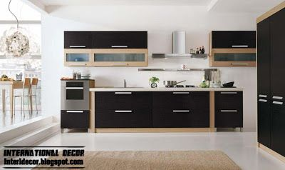 Modern Black Kitchen Designs Ideas Furniture 2014  Kitchen Custom Modern Kitchen Design Ideas 2014 Decorating Inspiration