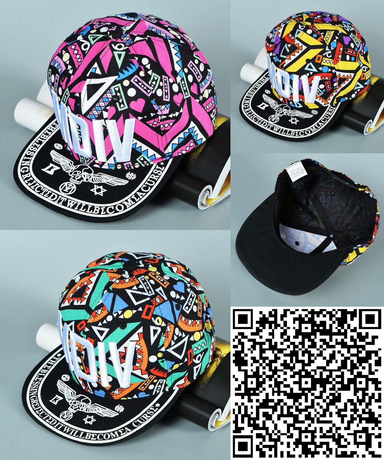 Visit to Buy  Colorful Snapback Spring And Summer MDIV Baseball Cap Peaked  Cap Family 2cc9b5c29d