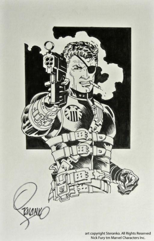 Nick Fury - Jim Steranko | STERANKO theGreat | Pinterest ...