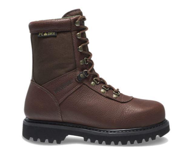 6c1c59281ca Wolverine Men's Big Horn Waterproof Steel-Toe Hunting Boots ...