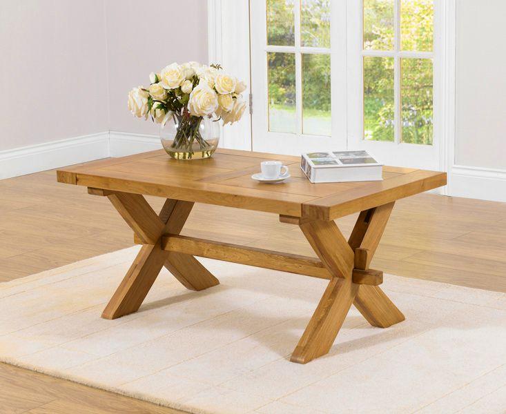 Bordeaux Solid Oak Coffee Table | Fantastic Furniture | Pinterest