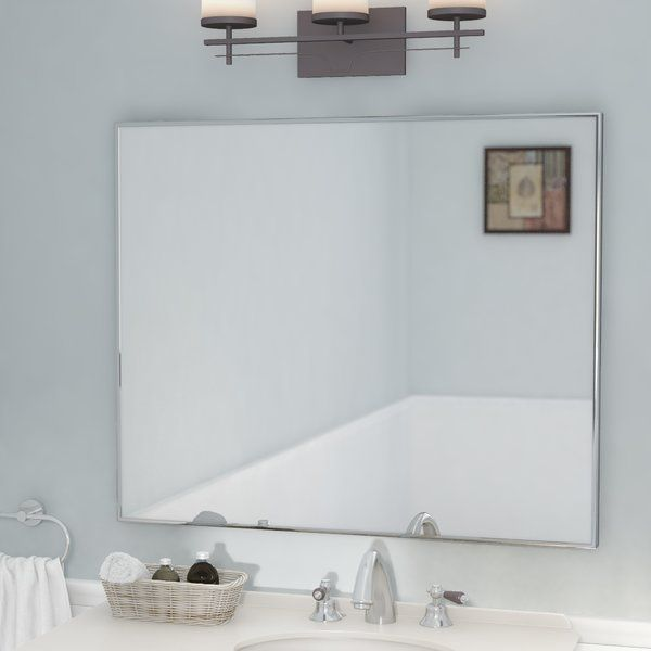 Bathroom Vanity Wall Mirrors Contemporary Bathroom Mirrors