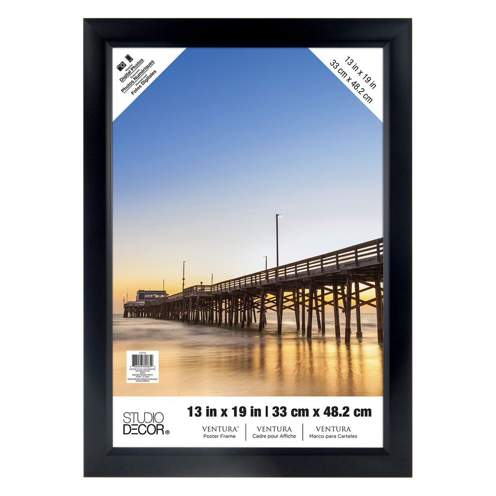 Contemporary 13 X 19 Poster Frame Embellishment - Picture Frame ...