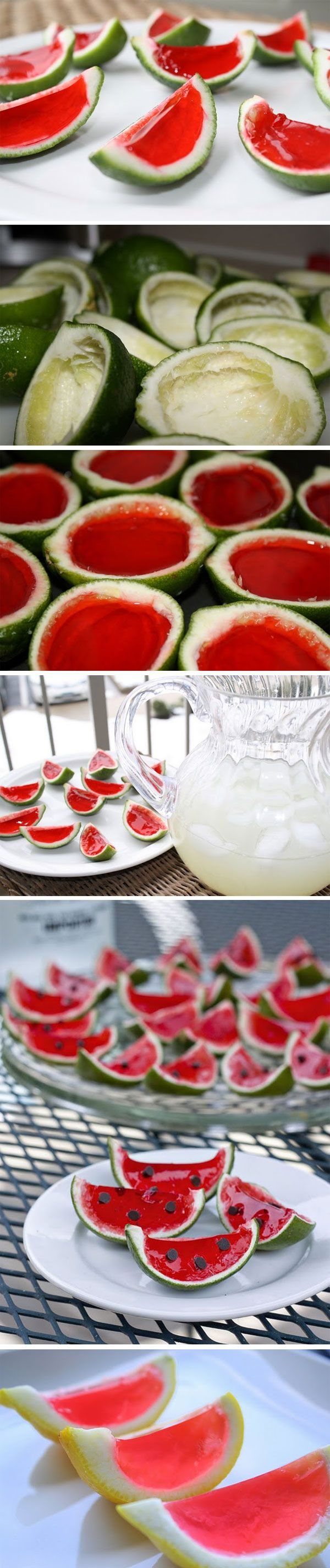 Jelly watermelon shots