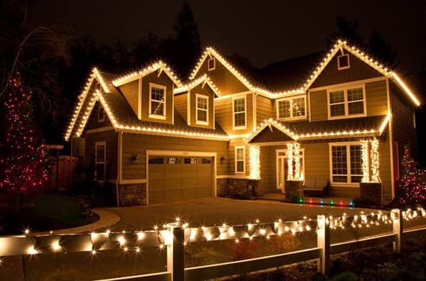 Image result for outdoor christmas lighting