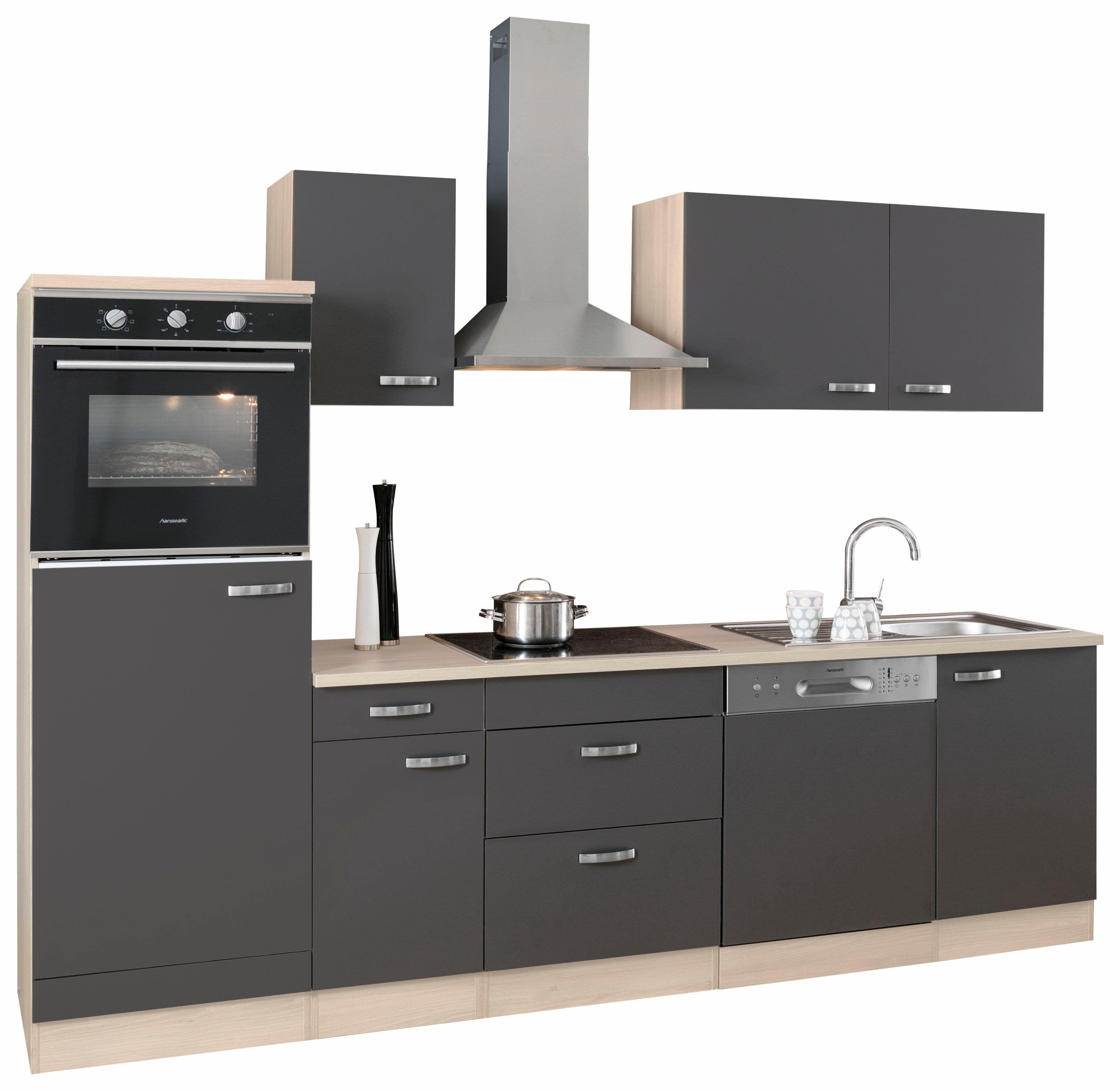 OPTIFIT Küchenzeile ohne E-Geräte grau, »Faro« Jetzt bestellen unter ...