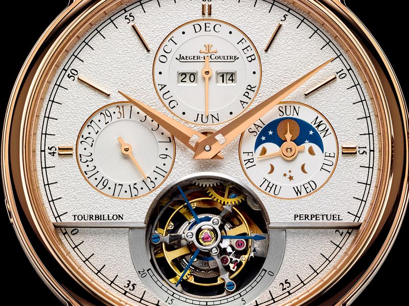 The creation of this model is a dizzying feat that sets a connoisseur's heart beating as fast as its mechanism. Inspired by its 19th century perpetual calendars, Jaeger-LeCoultre launches one of its finest complications within the Master Grande Tradition line: the Master Grande Tradition Tourbillon Cylindrique à Quantième Perpétuel in pink gold.