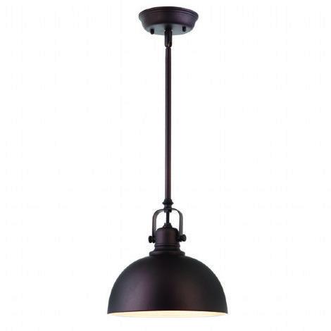 Mini suspendu de style industriel bronze id al pour lot chambre coucher et salle de bain - Luminaire suspendu chambre a coucher ...