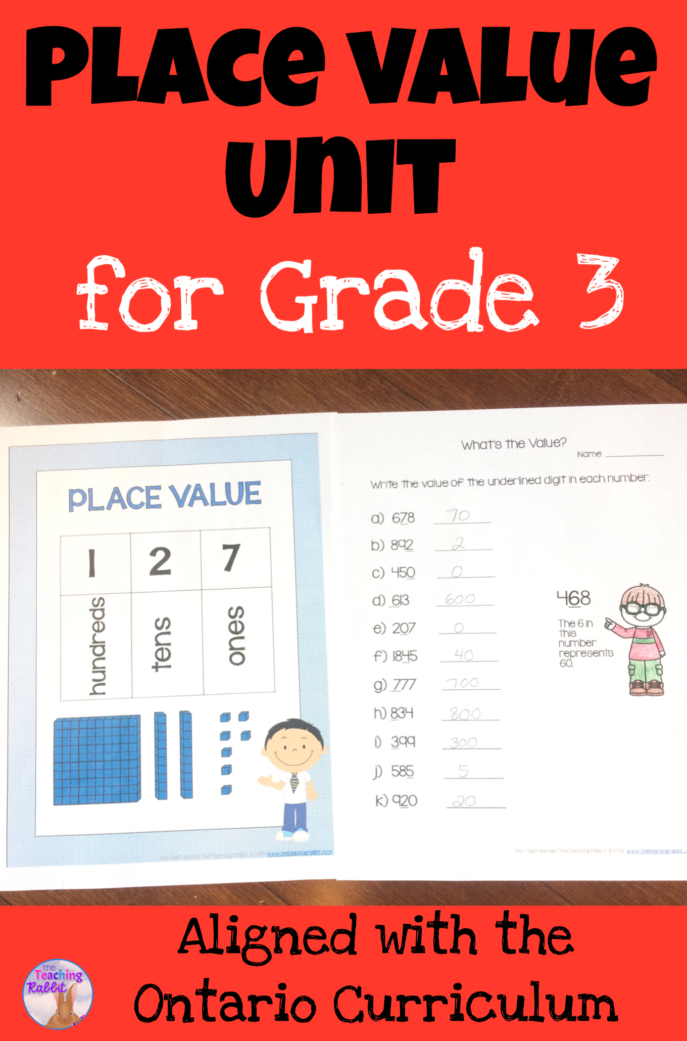 Place Value Unit Grade 3 With Images