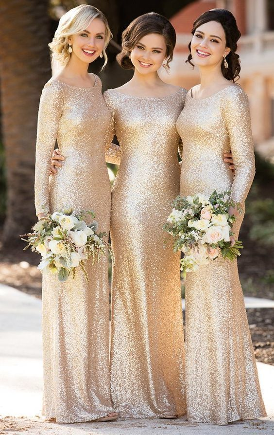 Long Sleeves Sequin Maxi Bridesmaid Dress Rose Gold Formal Evening - Long sleeve bridesmaid dress, Sequin bridesmaid dresses, Sequin bridesmaid, Sorella vita bridesmaid dresses, Bridesmaid dresses 2017, Champagne bridesmaid dresses -  Attention Please!  When you purchase the dress, we will email to you within 24 hours to confirm the order and the size, please check and reply in time! It's very important to me  Thank you for your cooperation!  Our Dresses are all custommade, so you order them in any size and color, and you can get your dress within 2025 days after your payment  Here is our email address rosyprom@outlook com, you can send email to me at any time  The sizes for it  You can make the dress in standard size or custom size  If you choose the custom size, we need the following size 1  Bust              inches  2 Waist                  inches  3 Hips                    inches  4  Your height without shoes              inches  ( It is from your top head to the floor without shoes ) Important ! 5,Your height with shoes              inches  ( It is from your top head to the floor with shoes ) Important ! 6,The height of shoes           inches 7 Occasion Date           8 Dress color          If the dress has sleeves, we also need 9  Arms Eye           inches 10  Shoulder Width ( shoulder to shoulder)          inches 11  Sleeve Length (arms length)         inches The Fast & Safe Delivery Fast international Shipping is a great progress for us in nowadays! We work with the world famous like DHL, UPS, FEDEX, TNT etc  HOW TO ORDER IT Step 1 Click on  Add to cart  Step 2 Choose check out Step 3 Select payment method and add notes of your size and color choice  Step 4 Fill out your personal information, like shipping address and contact details