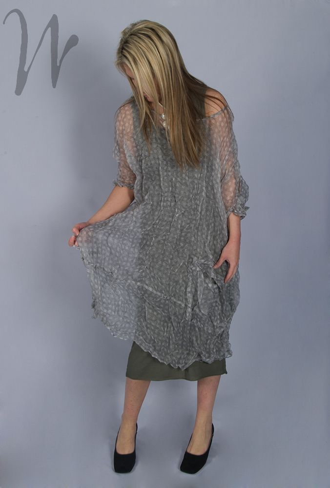 Rundholz sheer checked silk dress. #Rundholz #Dresses #Silk #Sheer #Check #Oversized #LisaTucci #Floaty #Summer #Fashion http://www.walkersofpottergate.com/product/8086/rundholz-sheer-silk-oversized-dress-3760906/?selected_category_id=474