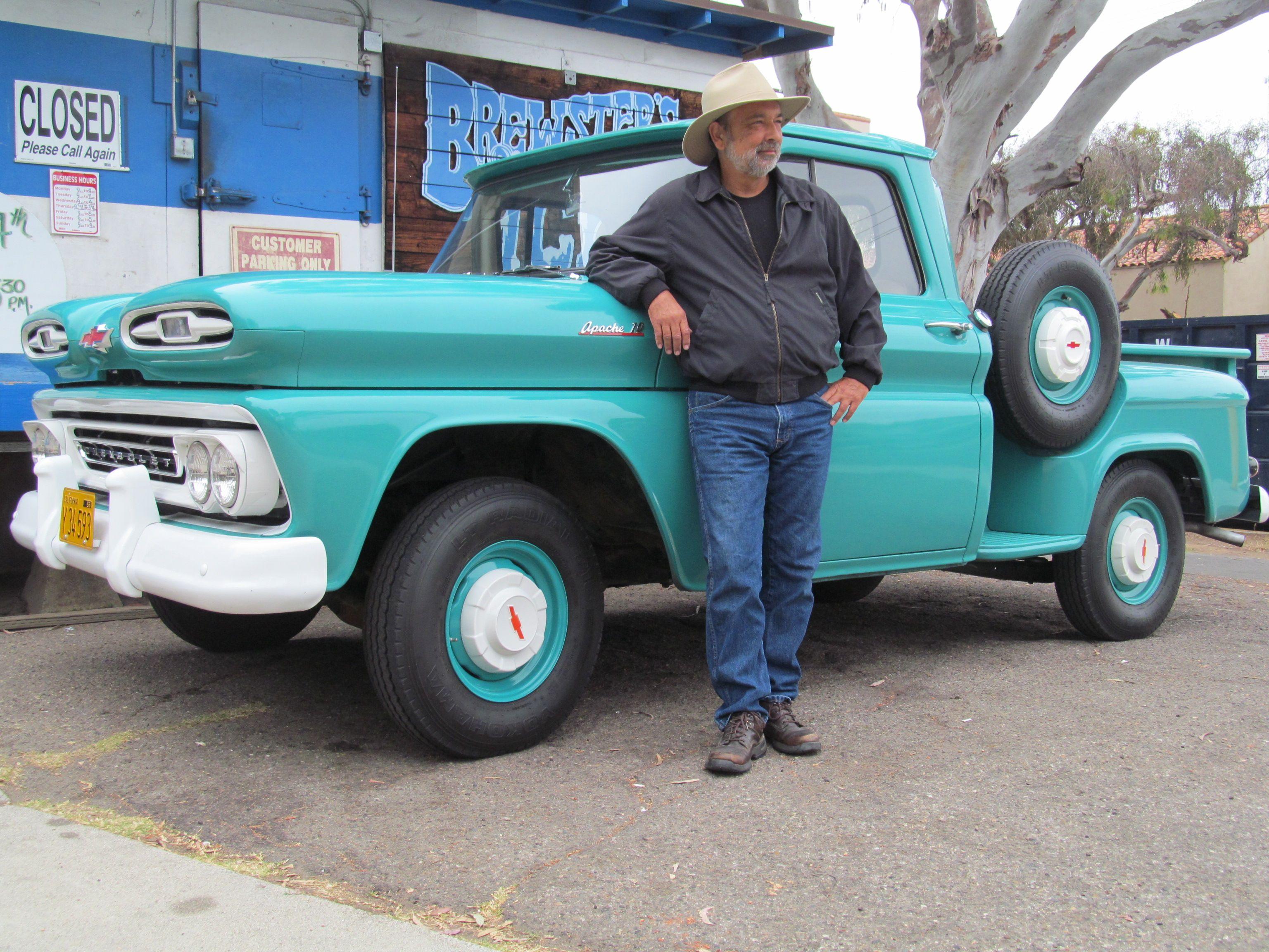1961 Chevy Apache 10 C10 Pickup Truck Short Wheelbase Swb Stepside