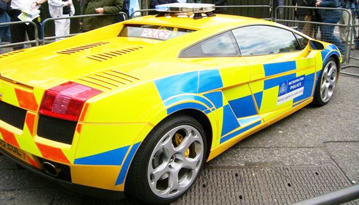 The 10 Countries With The Most Expensive Police Cars Richest