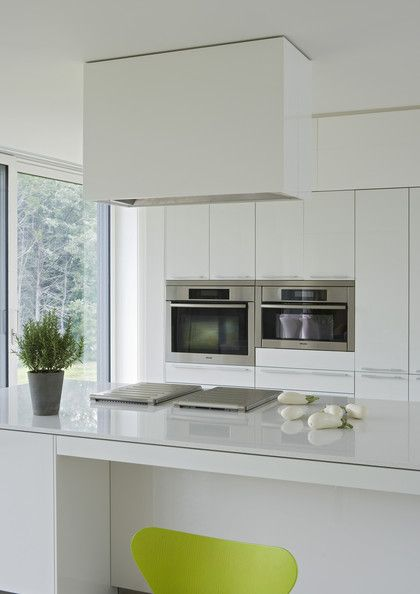 Modern White Vent Hoods | Modern Kitchen Details White Modern Kitchen  Keywords Extractor Fan .