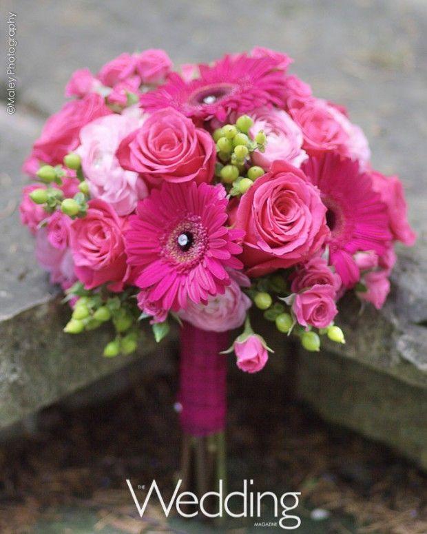 Pink Garden Rose And Hydrangea Bouquet pink garden roses, coral roses, green hydrangeas, pods, sage
