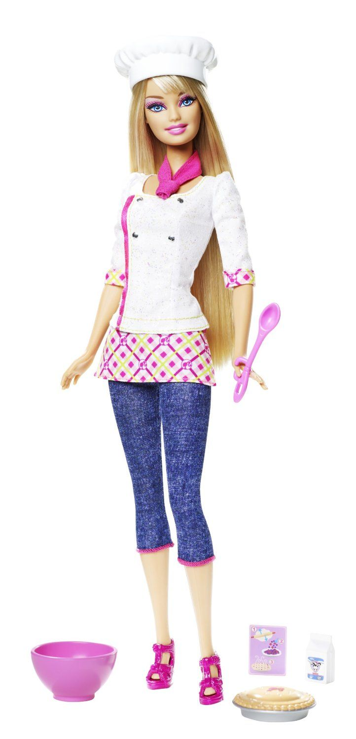 Barbie I Can Be Chef | Barbie Playline Dolls | Pinterest | Muñecas ...