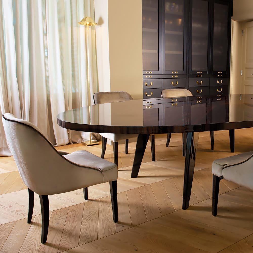 High End Designer Large Oval Modern Dining Set Dining Sets Modern Luxury Dining Tables Luxury Dining