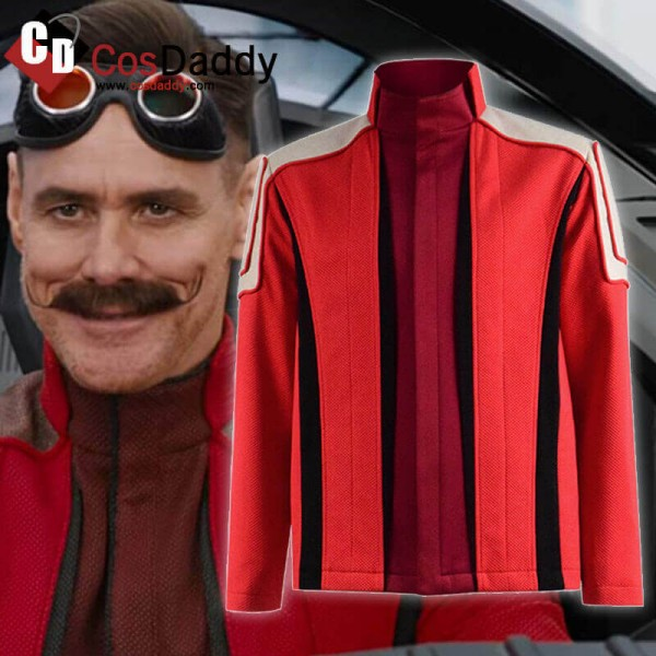 2020 Sonic The Hedgehog Dr Robotnik Red Jacket Coat Cosplay Costume Dibujos De Anime Ropa Sala De Videojuegos