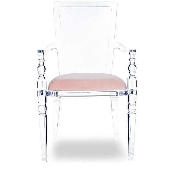 juliette lucite chair ($995) ❤ liked on polyvore featuring home