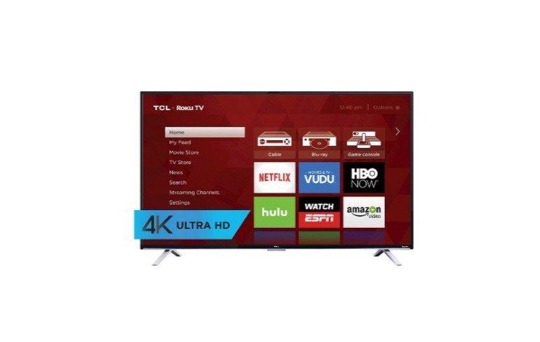 Tcl 55 4k Ultra Hd 2160p 120hz Roku Smart Led Tv For 348 At Target