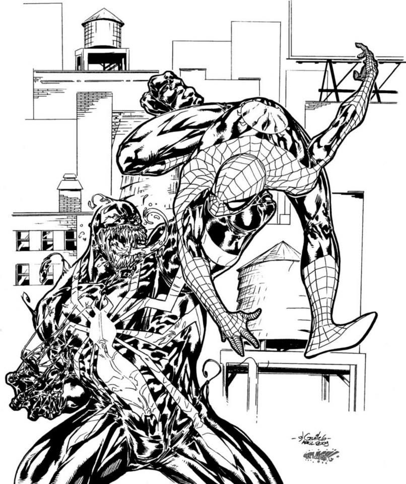 Http Spider Man Vs Venom By Spider Guile Marvel C