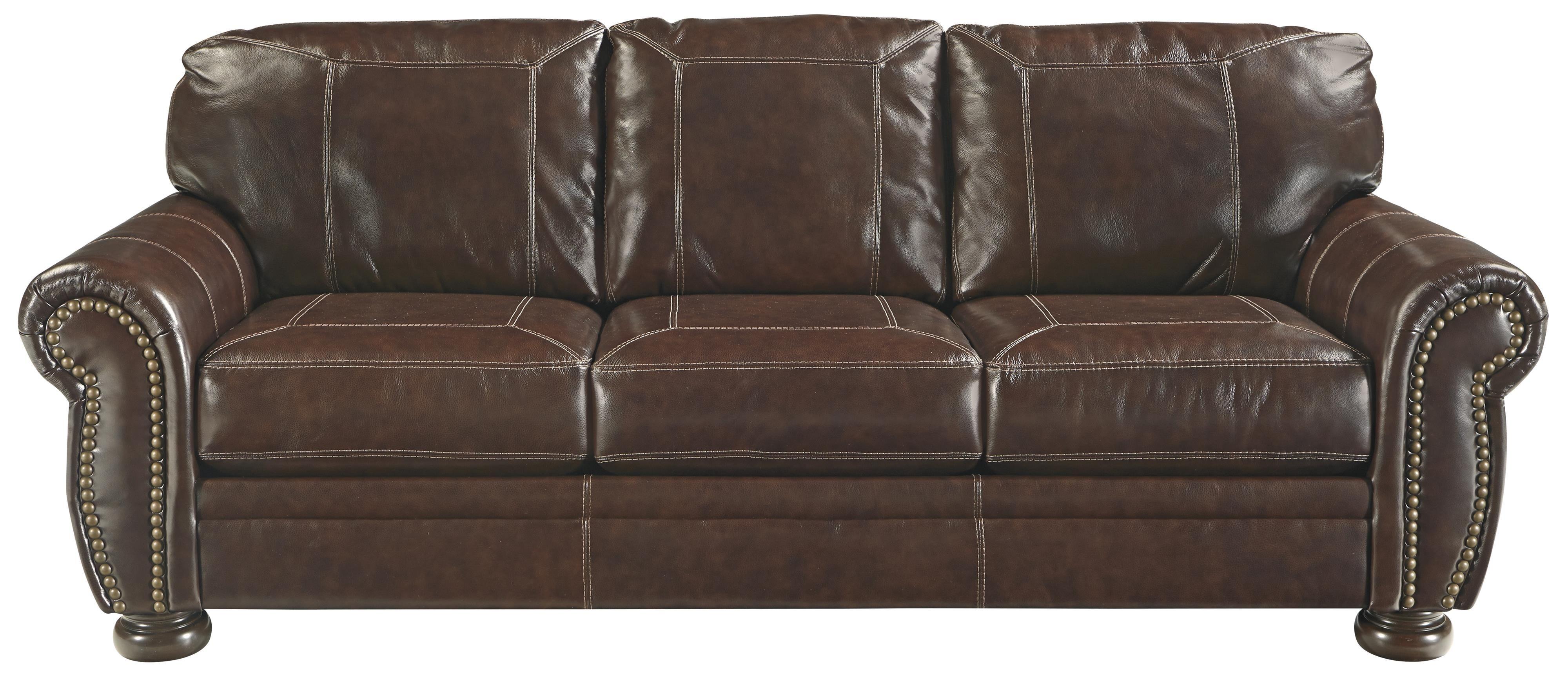 Banner Queen Sofa Sleeper By Signature Design By Ashley Leather Sofa Bed Signature Design Ashley