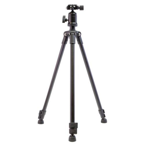 Dolica AX570B001 57in Featherweight Aluminum Tripod with Ball Head Black -- Click on the image for additional details.
