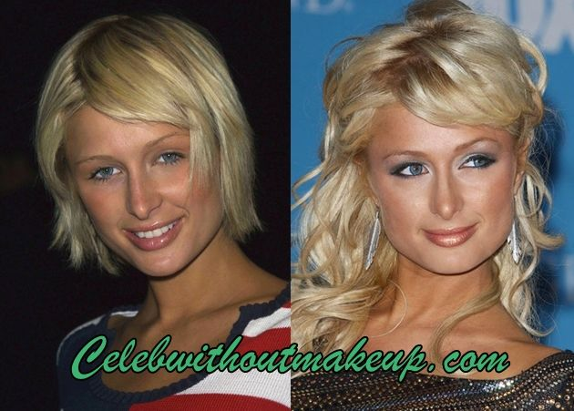 paris hilton before and after makeup born 17 february
