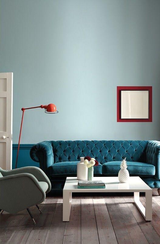 Little Greene Paint – Celestial Blue