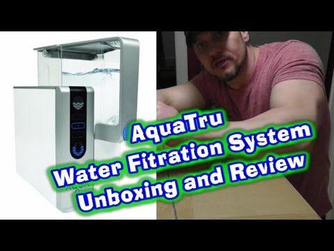 Aquatru Water Filter System Unboxing Review Water Filters System Reverse Osmosis Home Water Filtration