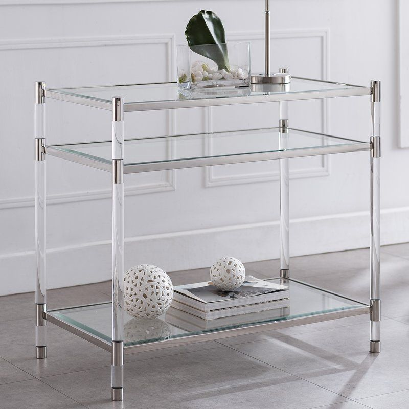 Hoddesd End Table Reviews Allmodern End Tables Modern Furniture Living Room Acrylic Furniture